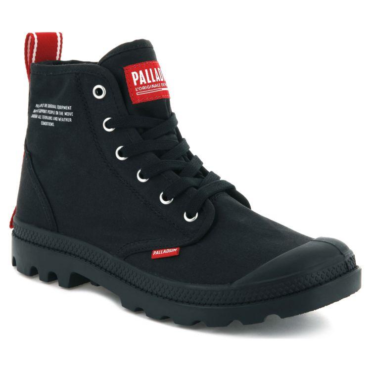 c5335443 Ботинки мужские Palladium Pampa Hi Dare 76258-008 высокие черные ...