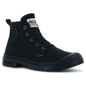 Ботинки мужские Palladium Pampa Sp20 Hi Cvs 76838-008 текстильные черные