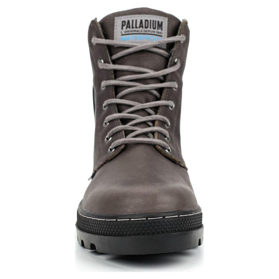 1a9d2cf3a Ботинки мужские Palladium Pallabosse Sc Wp 05938-052 кожаные коричневые
