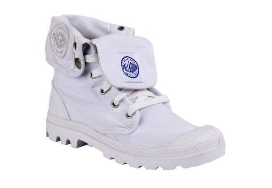 Женские ботинки Palladium Canvas Colection 92353-101 Baggy белые 9f26a335b713e